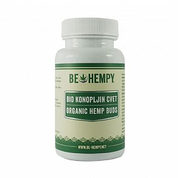 BE HEMPY Organic Hemp Buds 60 κάψουλες (32gr)