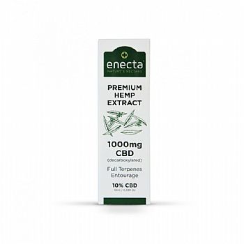 ENECTA CBD OIL DROPS 10% (1000mg) - 10ml